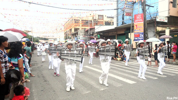 Band and Bugles in the Sangyaw Parade