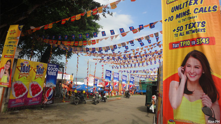 Entrance to Parayawan Festival
