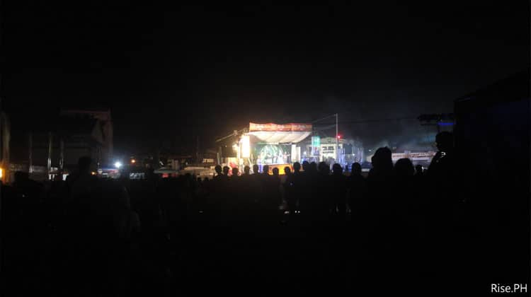 Parayawan Festival at Night