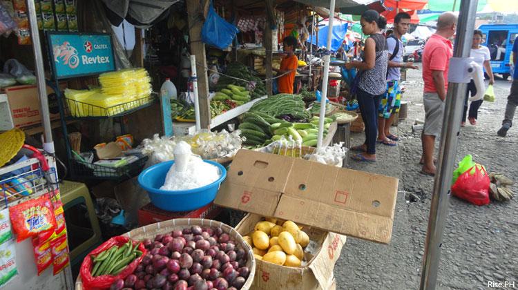 At Tacloban Public market