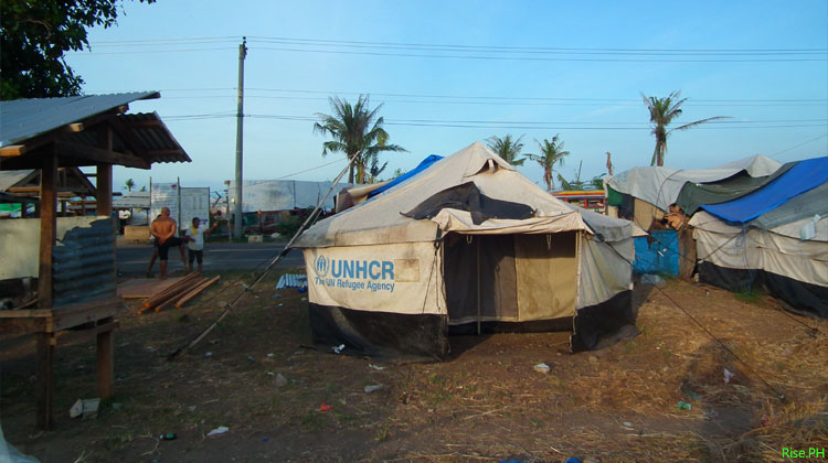 Tents of Yolanda Survivors