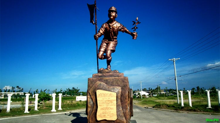 Boy Scout Monument in Palo Leyte
