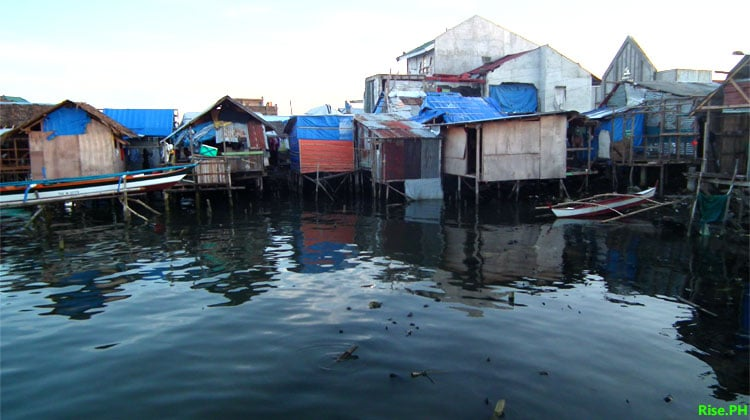 Houses of poor Filipinos