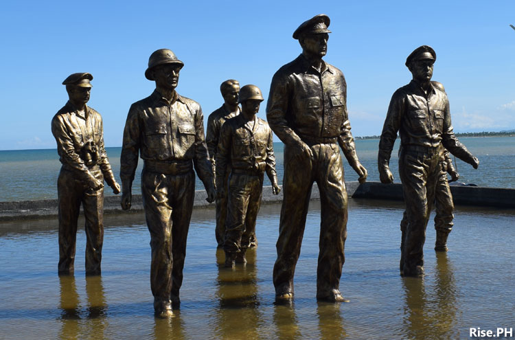 Closer look at MacArthur monuments