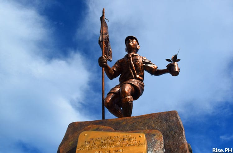 The Boy Scout Monument in Palo