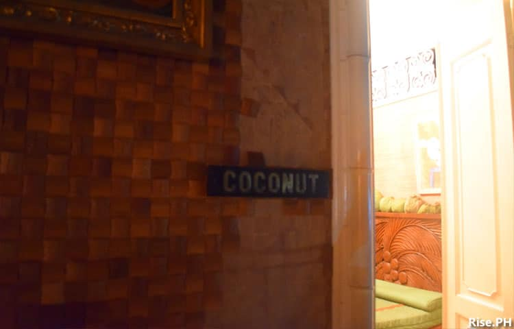 Coconut motif room
