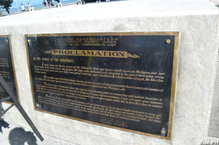 Proclamation as a historical site