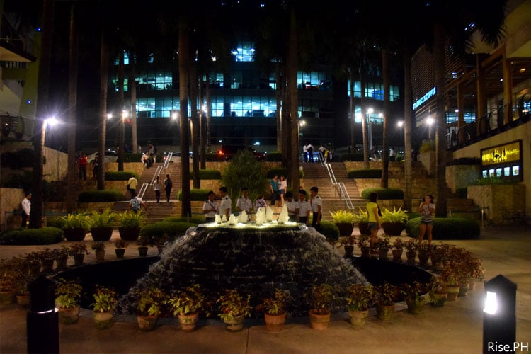 Ayala Center Cebu Landscape