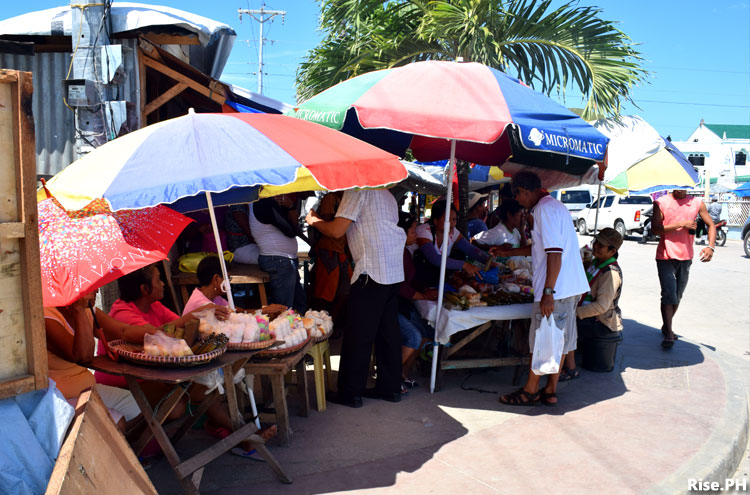 buying at Guiuan market