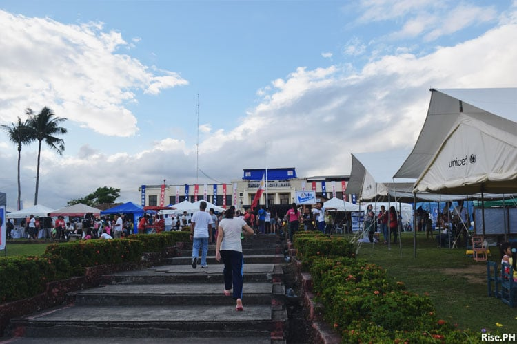 Tacloban City hall activities