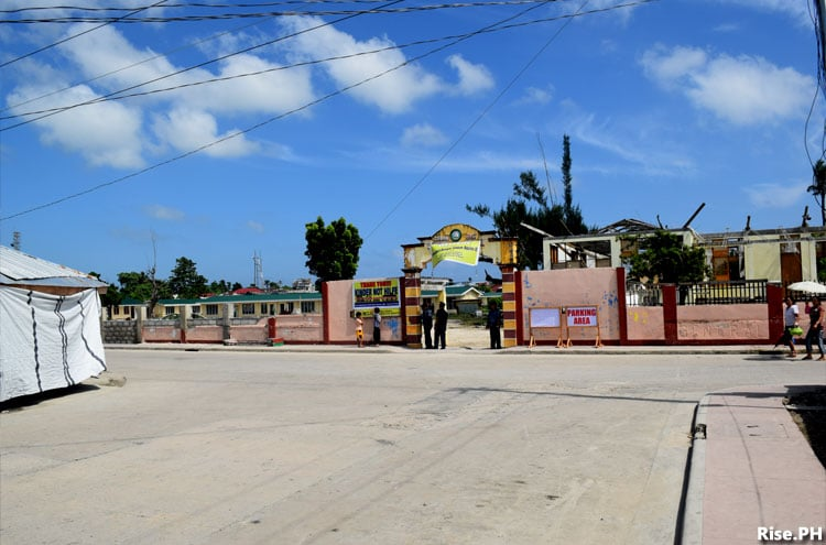 Guiuan central school entrance