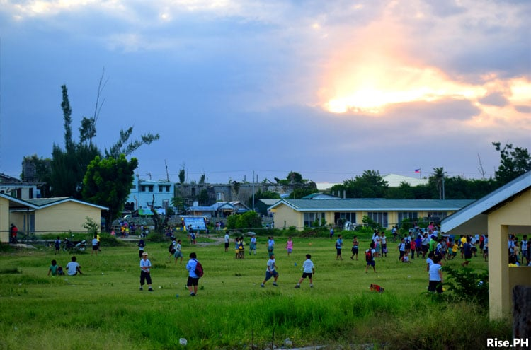 Pupils of Guiuan Central School