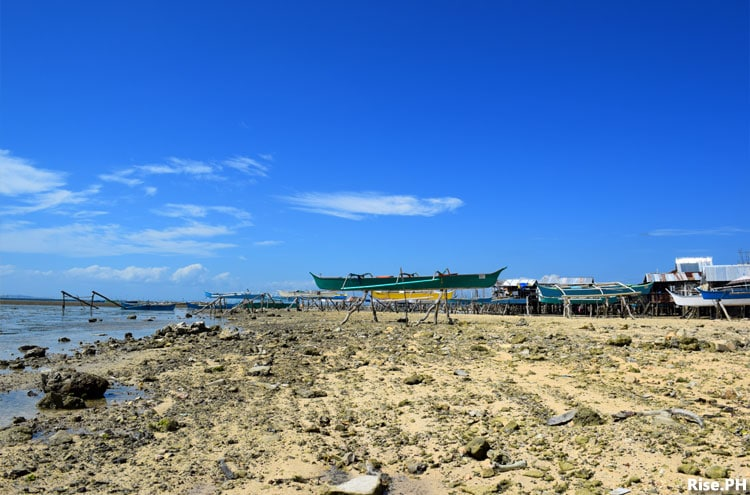 Fishing boats in Sulangan