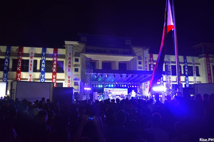 Concert at Tacloban City Hall