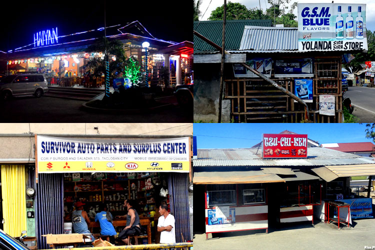 businesses names after Haiyan