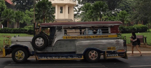 Jeepney, a common transportation mode in the Philippines
