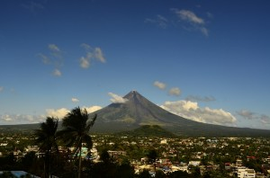 Mt. Mayon in Albay, Philippines