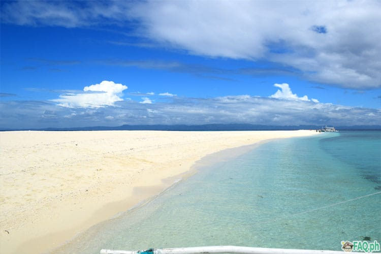 Kalanggaman beautiful sandbar