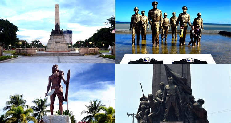 tourist enjoying philippine history