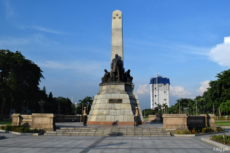 Rizal Monument at Rizal Park