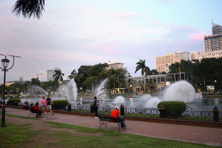 Rizal Park Dancing Fountain