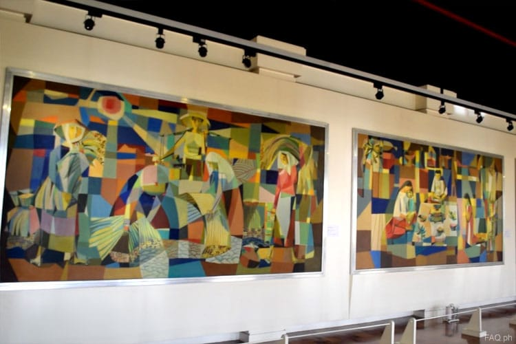 Vicente Manansala paintings