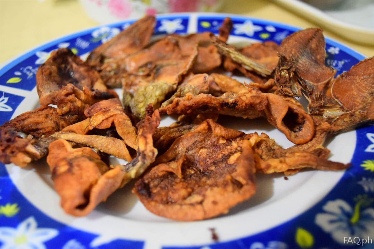 Dried fish and squid from Catbalogan