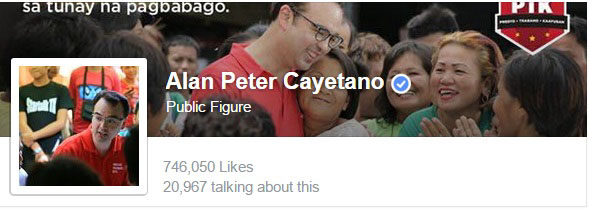 Alan Cayetano Facebook