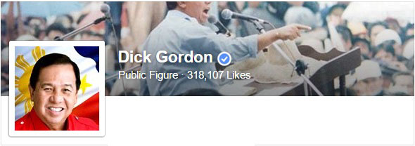 Dick Gordon Facebook