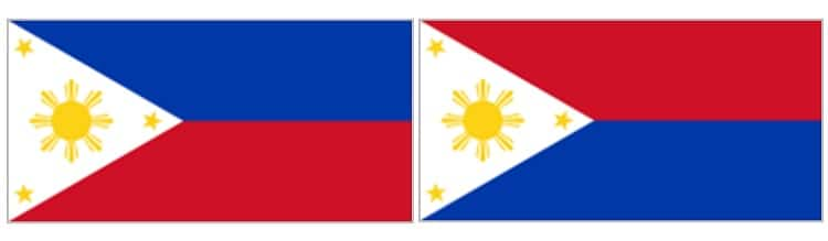 Philippine flags