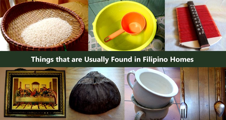 things found in filipino ho