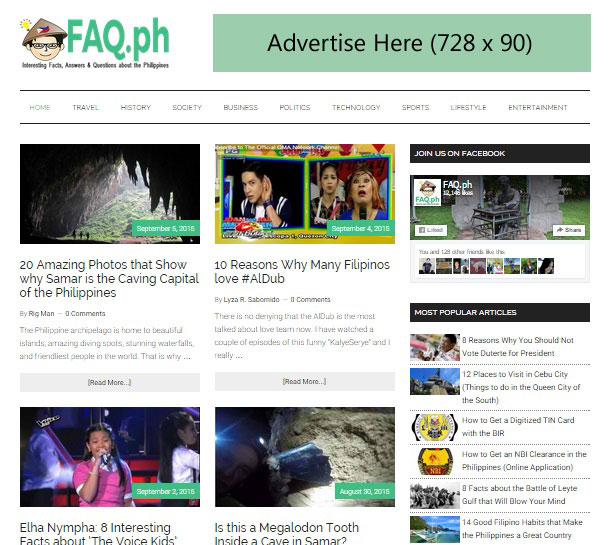 Advertise with FAQ.ph