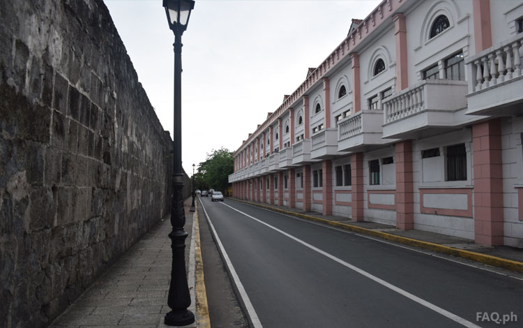 Inside Intramuros walls