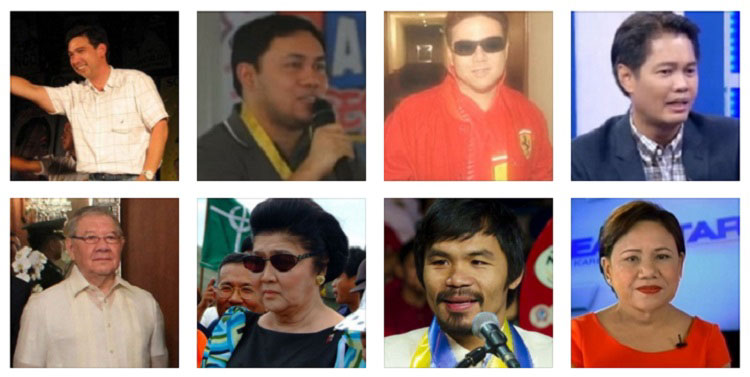 Richest Filipino politicians