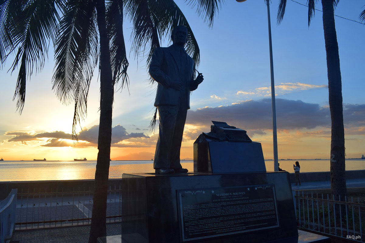 Statue of Maximo V. Soliven