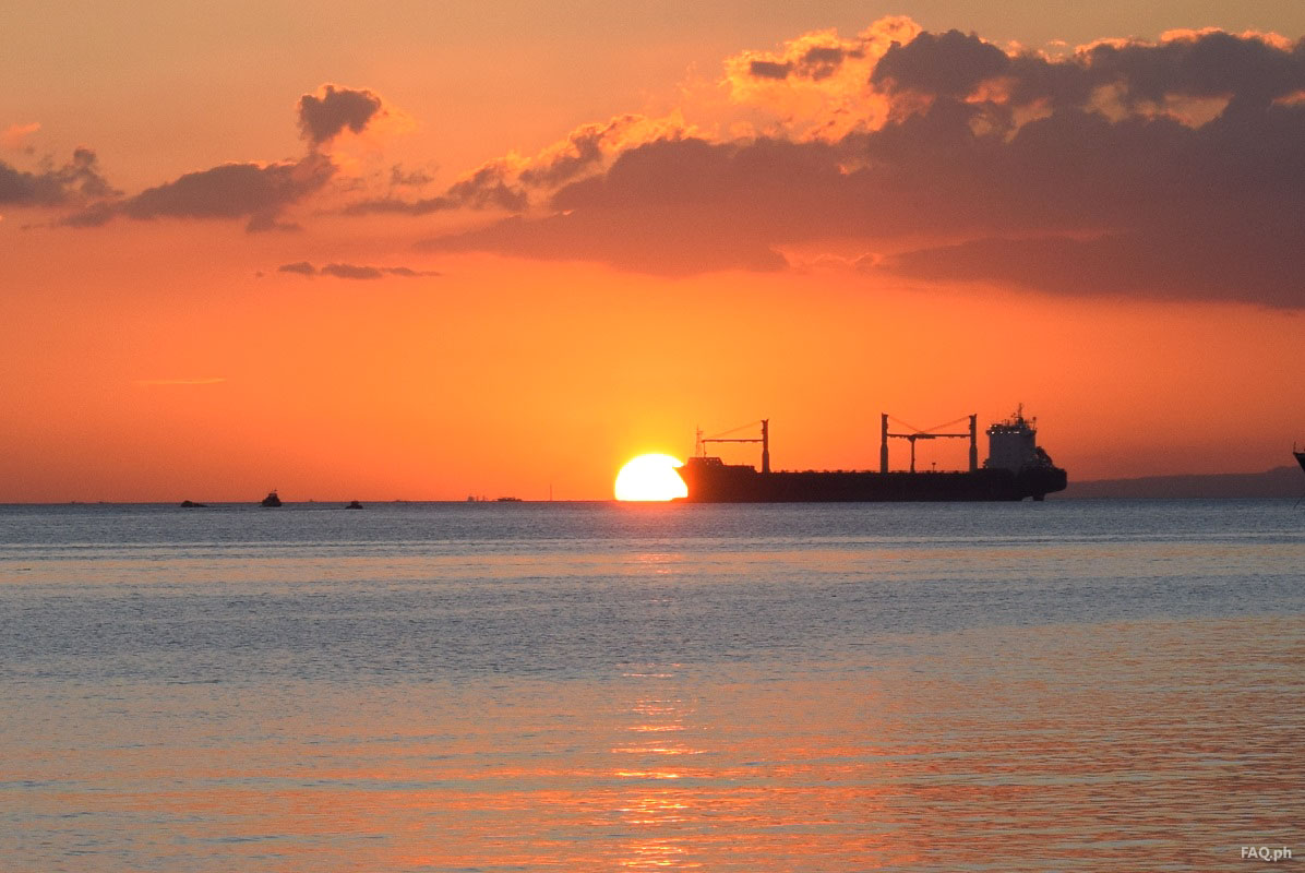 Beautiful Manila Bay Sunset