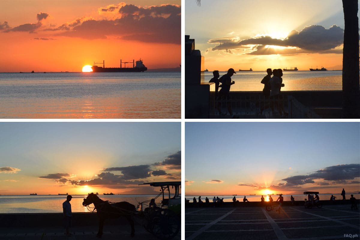 Manila Bay Sunset Views