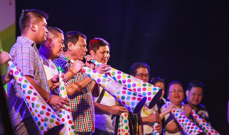 Rodrigo Duterte in Festival