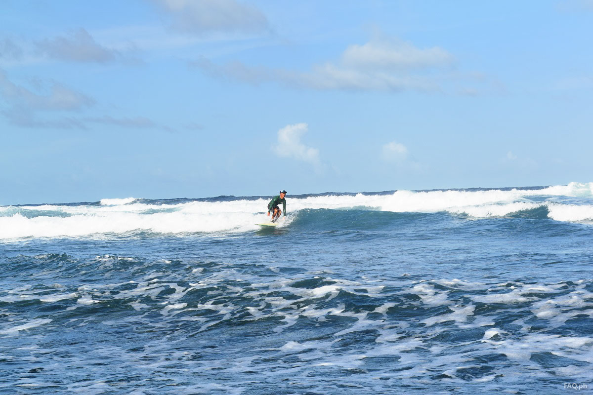 Surfer in Calicoan