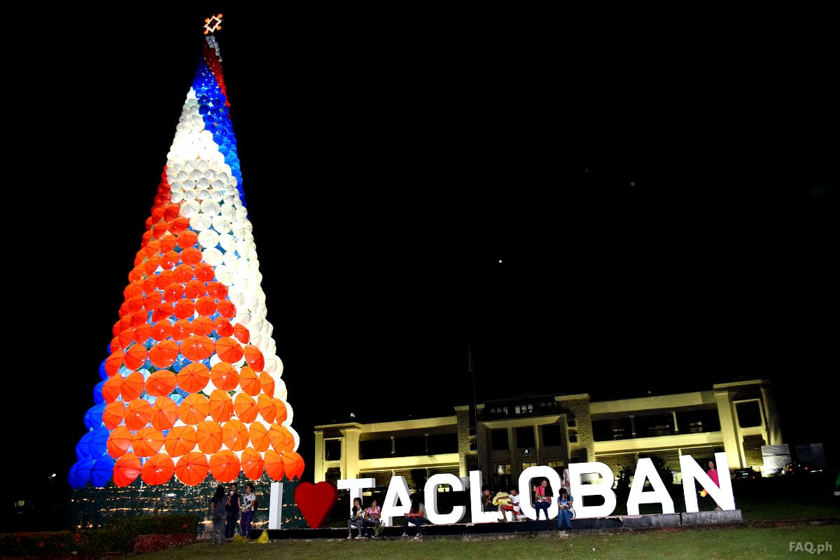 Tacloban City Hall Christmas Tree