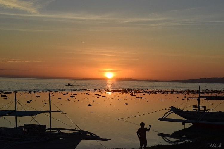 Sunset in Digyo Island