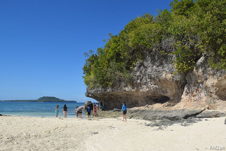 Mahaba Island rock formation